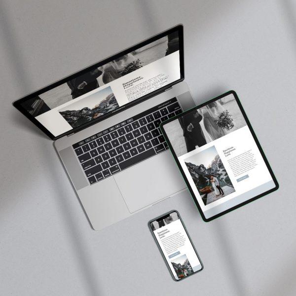 build your website